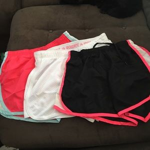 Justice Bottoms - 3 pairs of athletic shorts